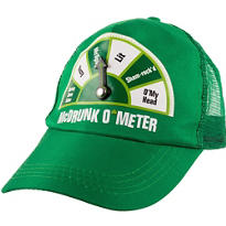 St. Patricks Day McDrunk O'Meter Hat