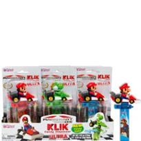 Super Mario Kart Klik Candy Containers 12ct