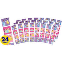 Disney Princess Sticker Square Packets 24ct