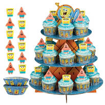SpongeBob Cupcake Kit for 24