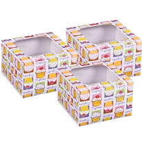 Cherry On Top Cupcake Boxes 3ct
