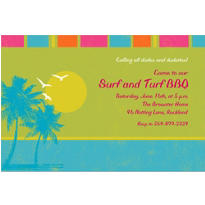 Summer Dreams Custom Invitation