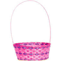 Pink and Purple Easter Basket