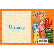 Yo Gabba Gabba Custom Thank You Note