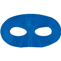 Blue Fabric Eye Mask