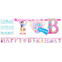 Add an Age Disney Princess Letter Banner 10ft