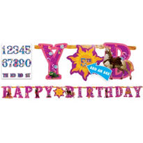 Add an Age Tangled Letter Banner 10 1/2ft