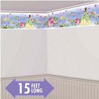 Princess & the Frog Border Wall Decal 15ft