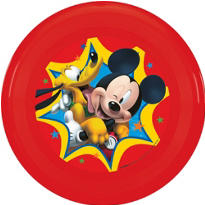 Mickey Mouse Flying Disc 9in