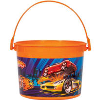 Hot Wheels Favor Container 4 1/2in