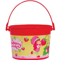 Strawberry Shortcake Favor Container 4in
