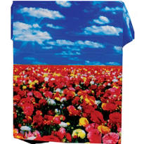 Flower Field Photo Backdrop 60in
