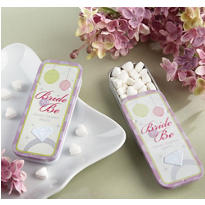 Bride To Be Mint Tin Bridal Shower Favor