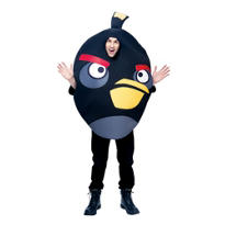 Adult Black Angry Birds Costume