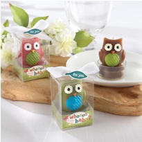Whoo Loves You Baby Candle Baby Shower Favors 3ct