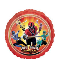 Foil Power Rangers Balloon 18in