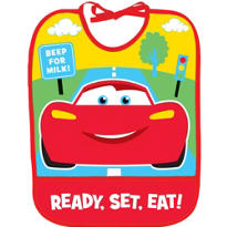 Cars 1st Birthday Bib