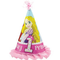 Disney Princess 1st Birthday Party Hat
