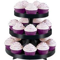 Black Cupcake Stand