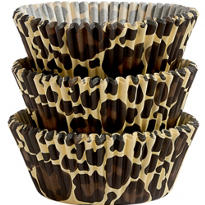 Leopard Print Baking Cups 75ct