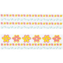 Flower Edible Cake Stickers Assortment 20pc