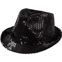 Sequin Light-Up Fedora