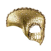 Idyllic Gold Half Mask