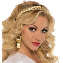 Golden Braid Headband