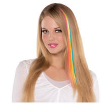 Neon Rainbow Hair Extension