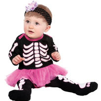 Baby Skeleton Tights
