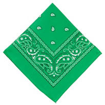Green Bandana 20in