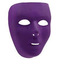 Basic Purple Face Mask