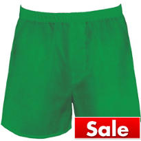 Green Boxer Shorts