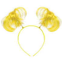 Yellow Ponytail Head Bopper 8in