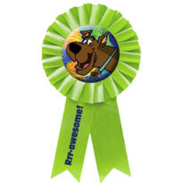 Scooby Doo Award Ribbon