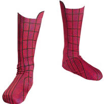 Child Amazing Spider-Man Boot Covers