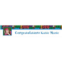 Custom Grad Year Photo Banner 6ft