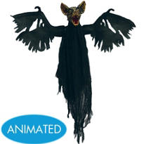 Animated Vampire Bat 22in