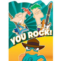 Phineas and Ferb Thank You Notes 8ct