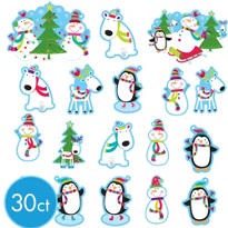 Joyful Snowman Value Pack 30pc