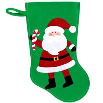 Santa Christmas Stocking 15in