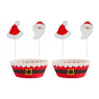 Secret Santa Cupcake Combo Pack for 24