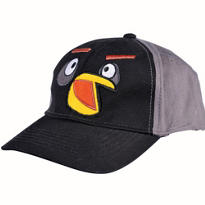 Child Black Angry Birds Baseball Hat