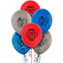 Avengers Latex Balloons 12in 6ct
