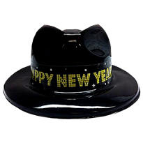 Midnight Party New Years Fedora