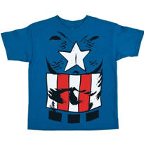 Child Captain America T-Shirt