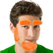 Leprechaun Facial Hair Set