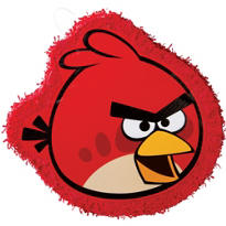 Red Angry Birds Pinata