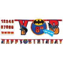 Batman Birthday Banner 10 1/2ft