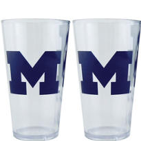 Michigan Wolverines Pint Cups 2ct